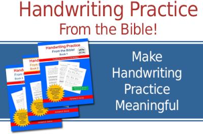 Bible Verses for Handwriting Practice