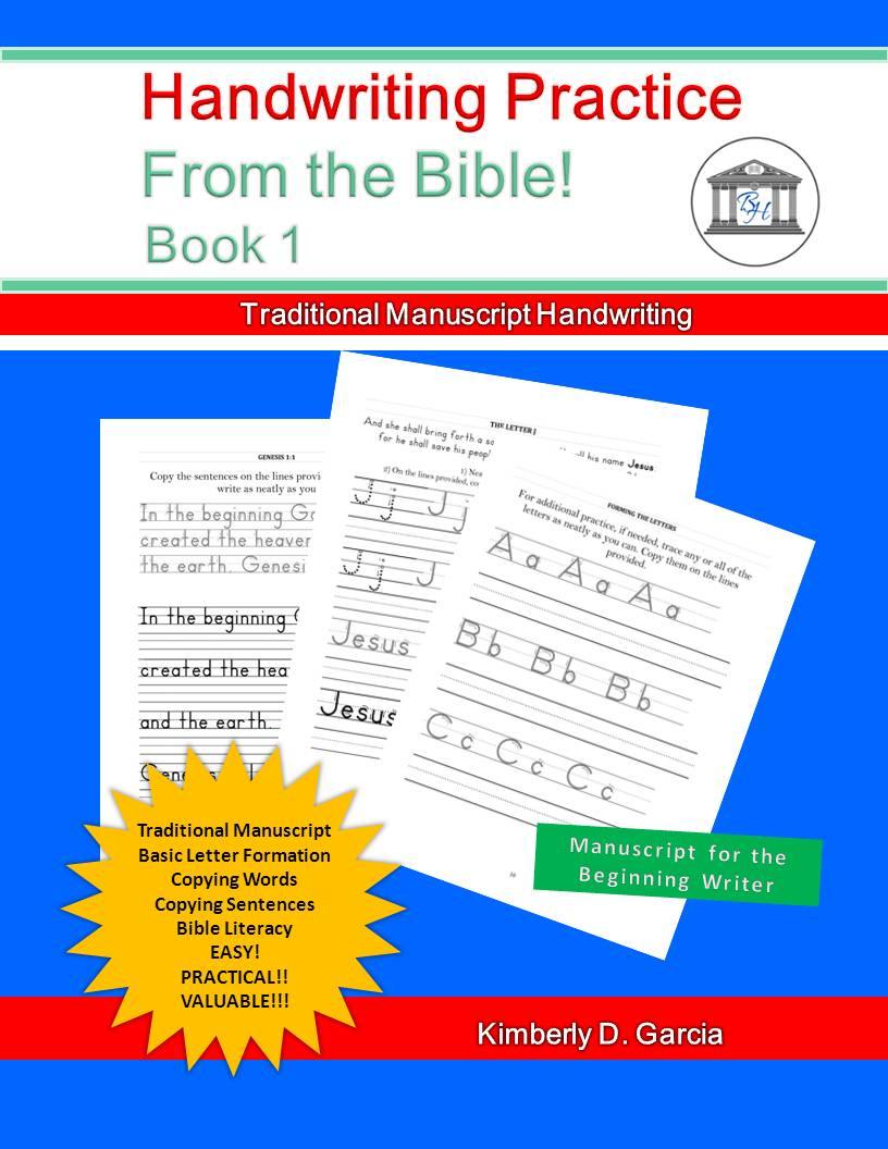 Bible Handwriting Practice Series