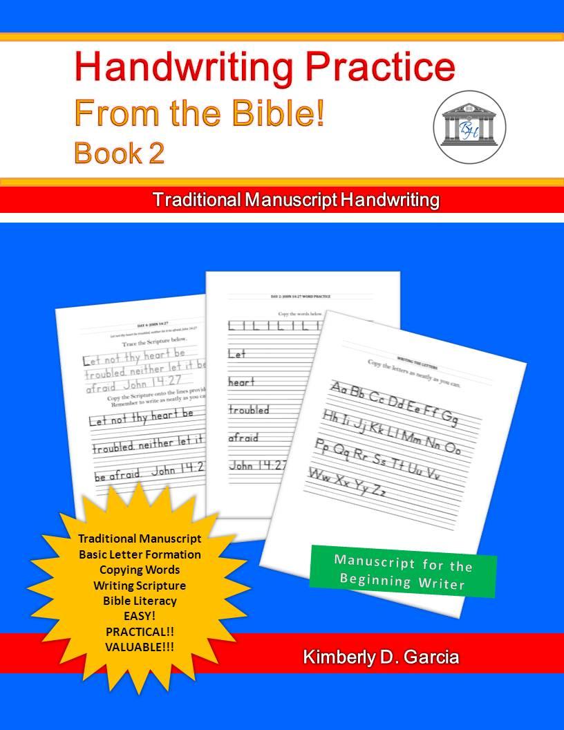 Bible Handwriting Practice Book 2