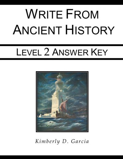 Write from Ancient History Level 2 Answer Key