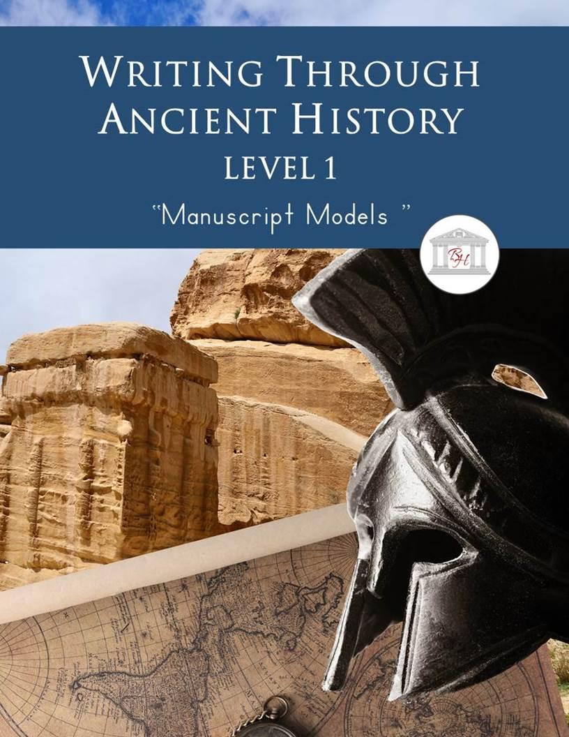 Writing Through Ancient History Level 1 Manuscript