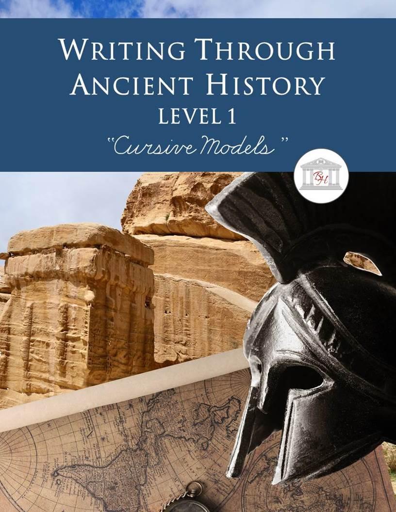 Writing Through Ancient History Level 1 Cursive