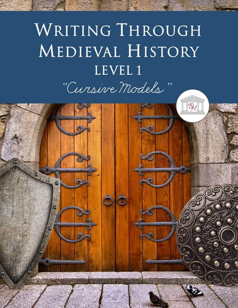 Writing Through Medieval History L1 Cursive