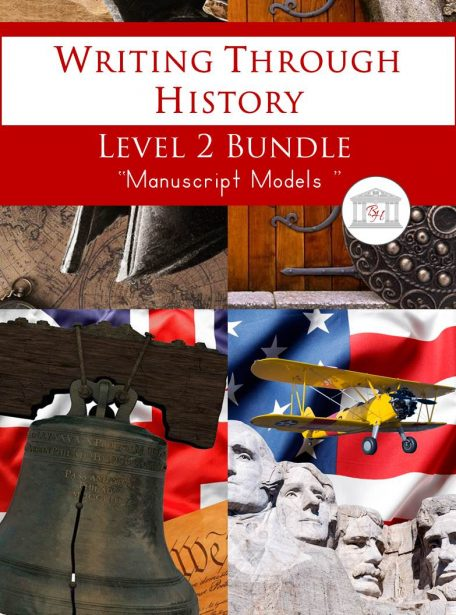 Writing Through History Level 2 Manuscript Bundle